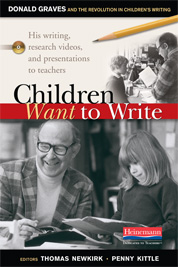 Children Want to Write book cover