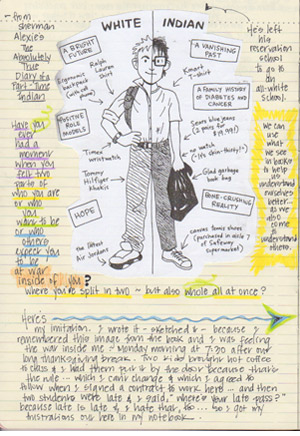 penny kittle teacher author advocate notebook work writing beside literature the absolutely true diary of a part time n